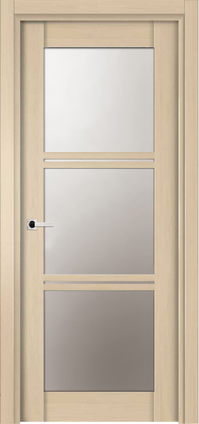 Image Emma La Luce Interior Door, finish White Alder