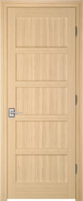 Image PBI 795L Interior Door, finish Oak