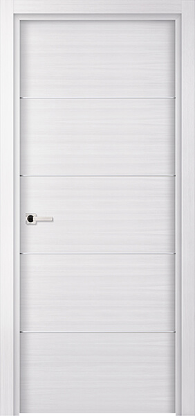 Image Elivia 4HS Interior Door, finish White Oak