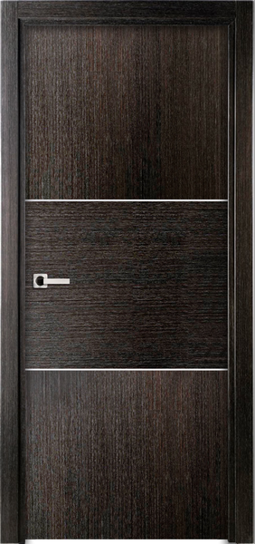 Image Sofia One Interior Door, finish Black Apricot