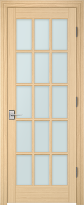 Image PBI 3150 Clear Glass Interior Door, finish Oak