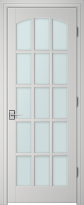 PBI 3150C Clear Glass Interior Door Primed