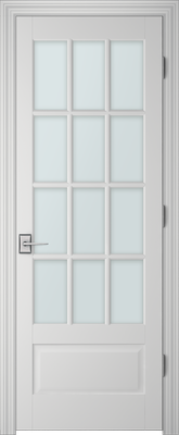 PBI 3120 Clear Glass Interior Door Primed