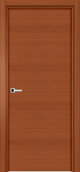Image Elivia Flush Interior Door, finish Johnson Cherry