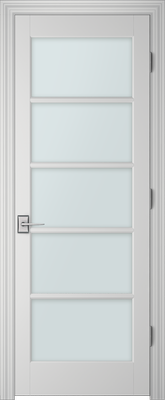 PBI 3050 Clear Glass Interior Door Primed