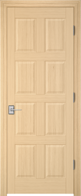 Image PBI 2080 Interior Door, finish Oak