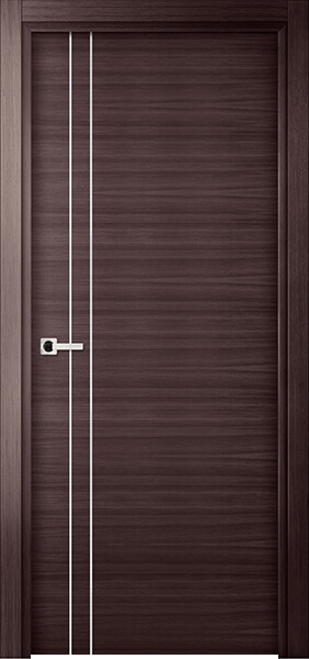 Image Elivia 2VS2 Interior Door, finish Tobacco Oak