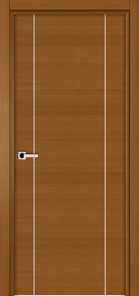 Image Elivia 2VS Interior Door, finish Dark Walnut