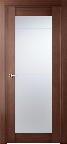 Image Infinity Glass Interior Door, finish Red Oak