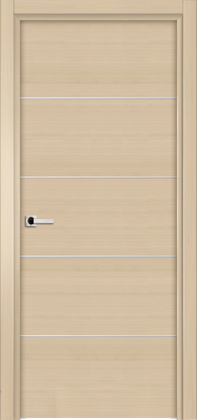 Image Elivia 4HS Interior Door, finish White Alder