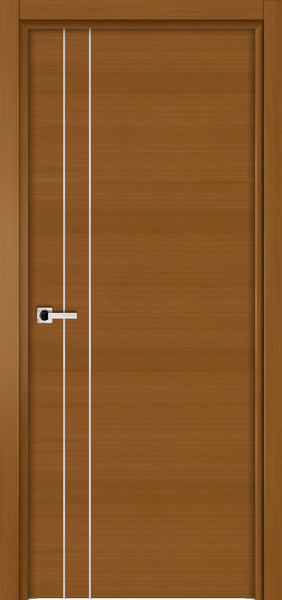 Image Elivia 2VS2 Interior Door, finish Dark Walnut