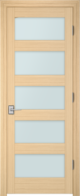 Image PBI 805H Clear Glass Interior Door, finish Oak