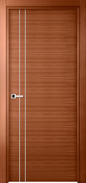 Image Elivia 2VS2 Interior Door, finish Honey Oak