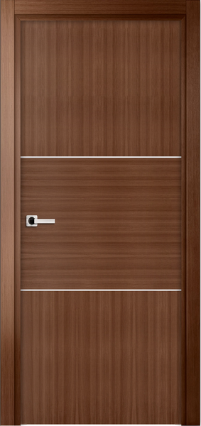 Image Sofia One Interior Door, finish Royal Oak