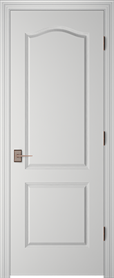 Image Masonite Cremona Interior Door, finish Primed