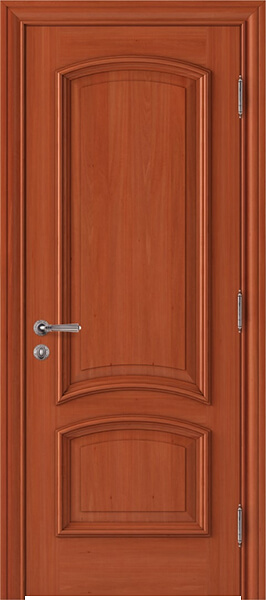Image Alder Melossandre Interior Door, finish Johnson Cherry