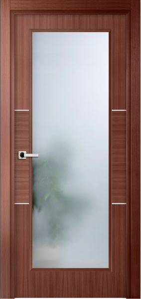 Image Sofia La Luce Interior Door, finish Red Oak