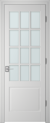 Image PBI 312A Clear Glass Interior Door, finish Primed
