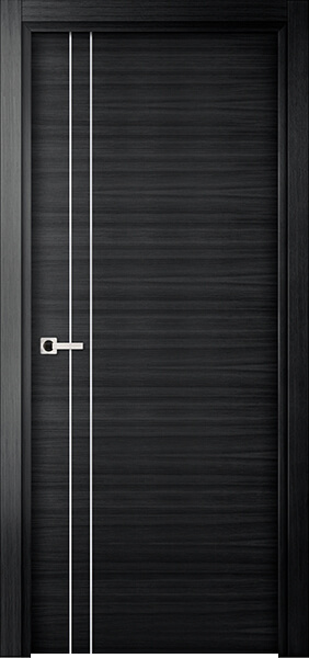 Image Elivia 2VS2 Interior Door, finish Black Oak