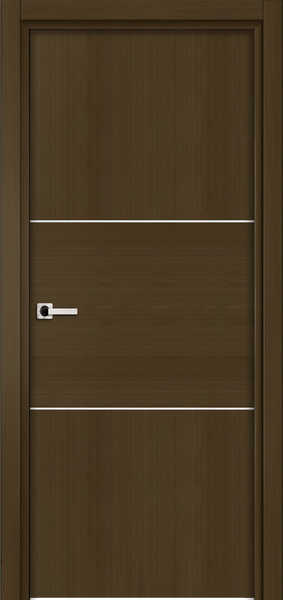Image Sofia One Interior Door, finish Deep Dark Walnut