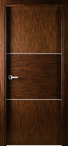 Image Sofia One Interior Door, finish Wenge Lacewood