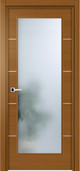 Image Elivia La Luce Interior Door, finish Dark Walnut