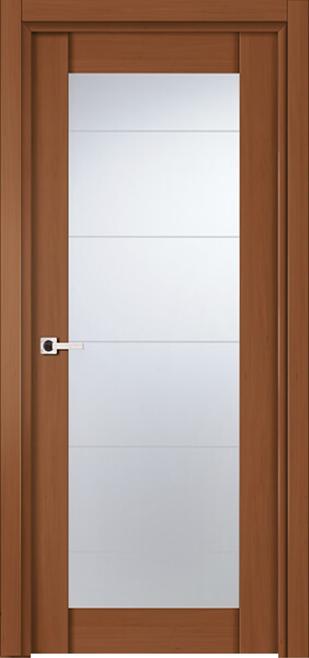 Image Infinity Glass Interior Door, finish Johnson Cherry