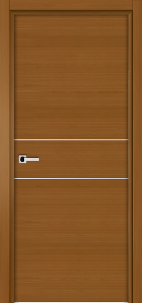 Image Elivia 2HS Interior Door, finish Dark Walnut