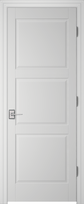 Image PBI 203H Interior Door, finish Primed