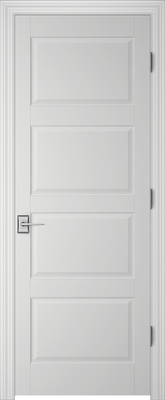 Image PBI 204H Interior Door, finish Primed