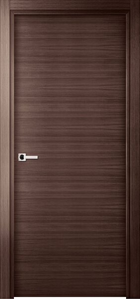 Image Elivia Flush Interior Door, finish Gray Oak