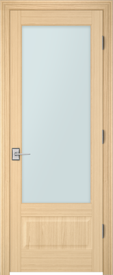 PBI 1010 Clear Glass Interior Door Oak