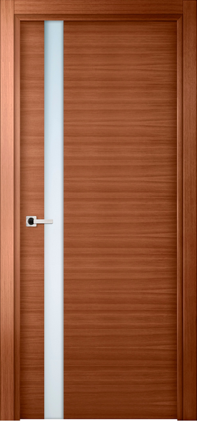 Image Elivia Attento Interior Door, finish Honey Oak