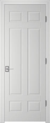 Image PBI 206T Interior Door, finish Primed
