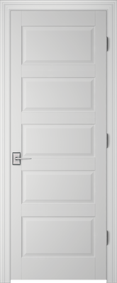 Image PBI 205H Interior Door, finish Primed