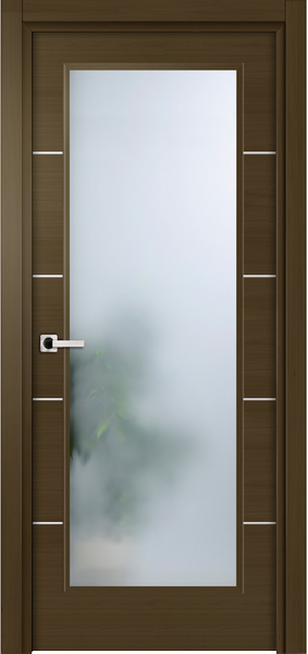 Image Elivia La Luce Interior Door, finish Deep Dark Walnut