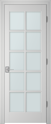 PBI 3100 Clear Glass Interior Door Primed