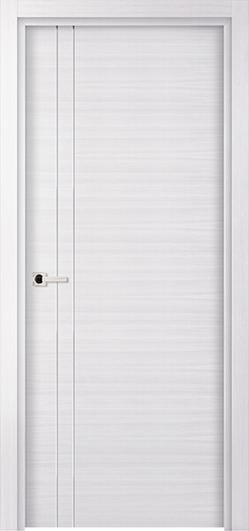 Image Elivia 2VS2 Interior Door, finish White Oak