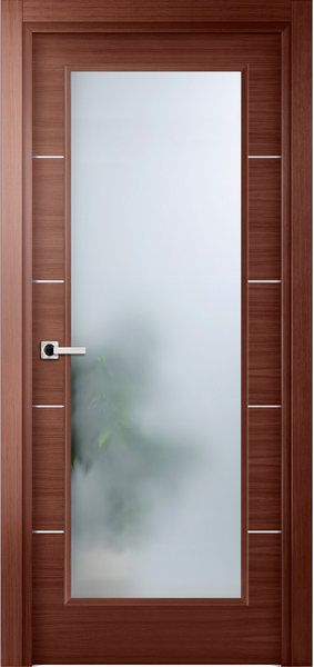 Image Elivia La Luce Interior Door, finish Red Oak