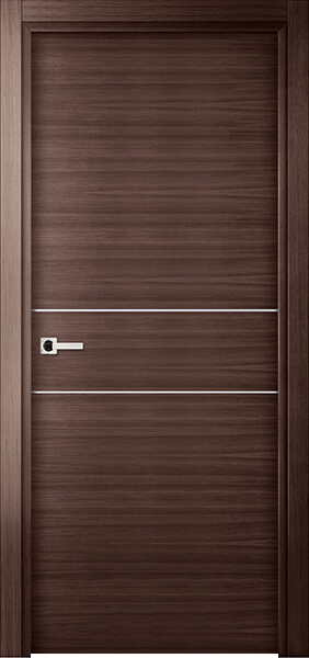 Image Elivia 2HS Interior Door, finish Gray Oak