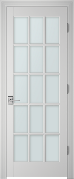 PBI 3150 Clear Glass Interior Door Primed