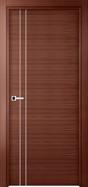 Image Elivia 2VS2 Interior Door, finish Red Oak