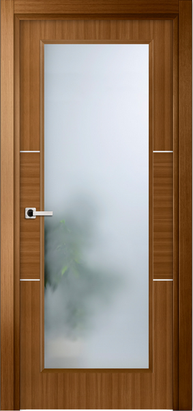 Image Sofia La Luce Interior Door, finish Light Oak