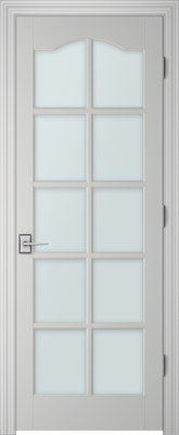PBI 3100S Clear Glass Interior Door Primed
