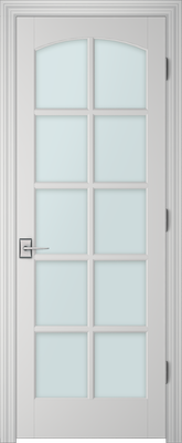 Image PBI 3100C Clear Glass Interior Door, finish Primed