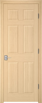 Image PBI 2060 Interior Door, finish Oak