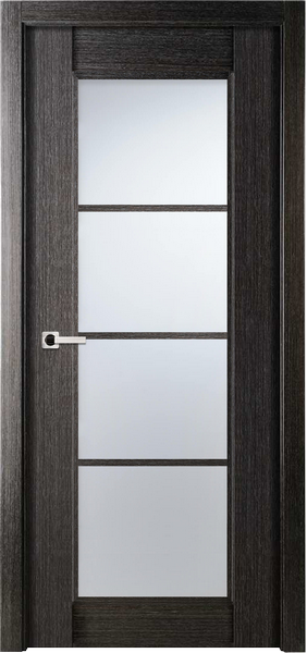 Image Palermo La Luce Interior Door, finish Black Apricot