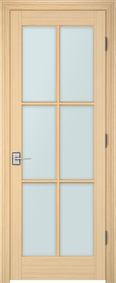Image PBI 308A Clear Glass Interior Door, finish Oak