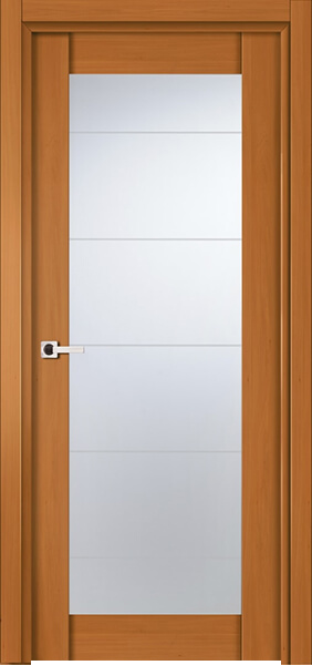 Image Infinity Glass Interior Door, finish Colonial Maple