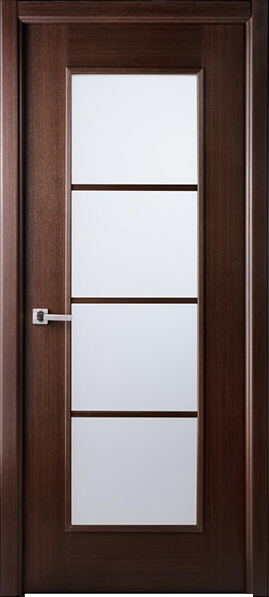 Image Palermo La Luce Interior Door, finish Wenge